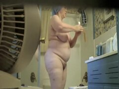 Nude wife is demonstrating big body with cans, Very horny solo spy cam session with the nude wife staying in front of the mirror and creaming body. Her wonderful big filled cans are worthwhile your seeing.