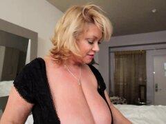 BBW Puma consoladores Sexy gordita tetona Babe en habitación de Hotel