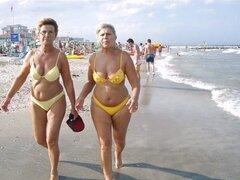 REINAS EN LA PLAYA. Deliciosas mujeres en la playa.