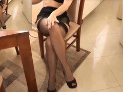 Demostración de las piernas, CH. 010 (piernas maduras)