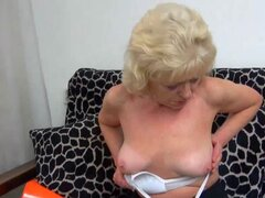 OldNanny Old mature whiped and fucked with horny guy, Old mature enjoying sex and whiped from guy