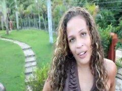 Tasha Fucking doggystyle Dominicana - culo de ébano de Toticos.com latina