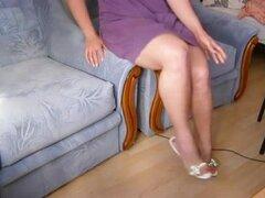 Caliente piernas y pantorrillas, piernas calientes de Batmannu