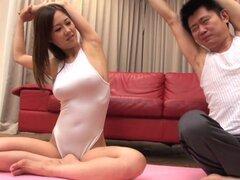 Dicksucking bigtitted babe japonesas titfucked, Dicksucking bigtitted babe japonesas titfucked y chuparlas en tetas