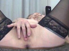 Abuela sexy en negras medias ama part5