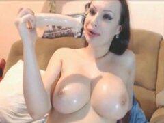 Big Tit rusa princesa Squirting masturbacion