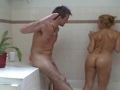 No hay sonido: Pareja Sexy tomando un baño