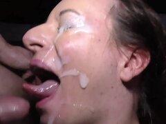 Reina de garganta profunda alemanas anal golpeada