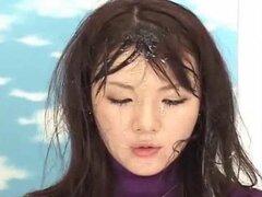 Noticias japonesas bukkake-deporte ducha