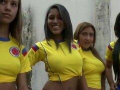 CULIONEROS - Sexy Latina futbolistas con Big Asses (bac8732)