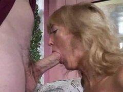 Sexy abuela rubia con curvas Rheina Shine madura abuela porno maduras viejas corridas cumshot