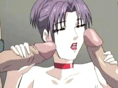 Cutie de anime con grandes tetas teniendo sexo