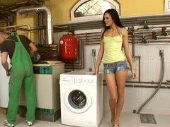 Seducciones de sala de lavandería de Regina Moon