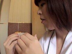 Mejores japoneses, increíble Solo mujer, clip de masturbación JAV