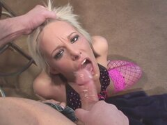 Kinky blonde chick has to handle a throbbing cock inside her asshole - Angel Couture, Jenner