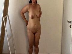 Madre de 50 años de edad expuestos masturbación Gina