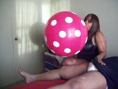 Sexy BBW globo paja!