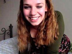 Rubia Grandes Tetas Consolador En Webcam