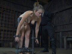 Rubia y sus amigos disfrutar de algo de dolor por sus semejantes kinky - Ashley Lane