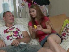 Tira adolescente rusa para su BF