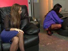 Fabuloso estrellas porno Paige Ashley y Ella Mai en cachondas Mamadas, clip rubia sexo Sexy chicas con tetas grandes, Ella Mai y Paige Ashley, vestida con medias de rejilla y atractiva, consigue abajo de algunos coño jugar, lamer dulce raja tanto actualid