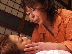 La miel madura nihonjin tiene lezbo