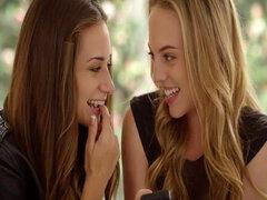 CULONAS chicas Cassidy Klein y Aubrey estrella hacen Anal