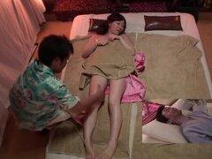 Clínica de masaje tetona japonesa Subtitulos en HD