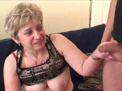 Granny Threesome acción madura abuela porno maduras viejas corridas corridas
