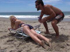 Sexy bikini girl gets fucked in the beach front cabana - Staci Carr, Daniel Hunter